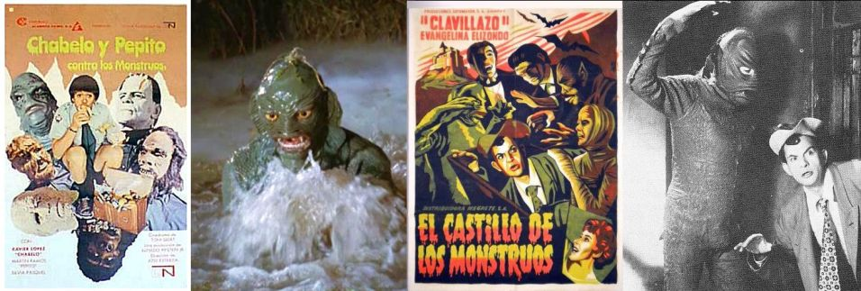 CREATURE FROM THE BLACK LAGOON PRESENTS OTHER SEA CREATURES PART 2